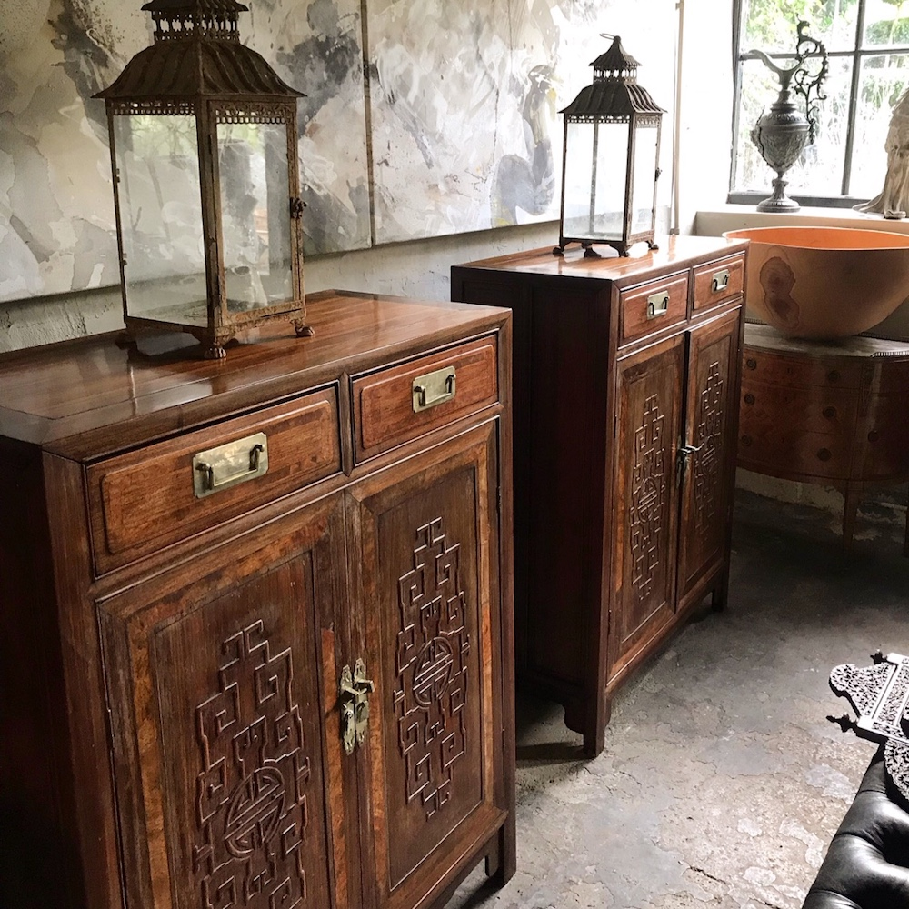 19th Century Chinese Cabinets