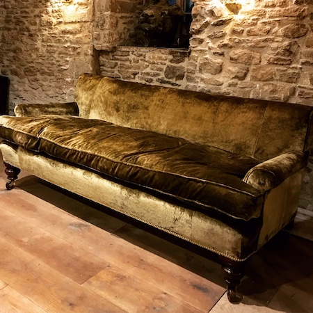 19th Century Country House Settee