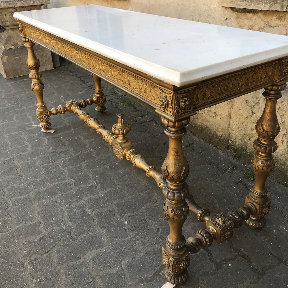19th Century French Giltwood Console