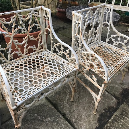 19th Century Gothic Chairs