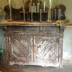 An early nineteenth century Irish sideboard