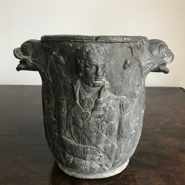 An unusual C19 th lead wine cooler