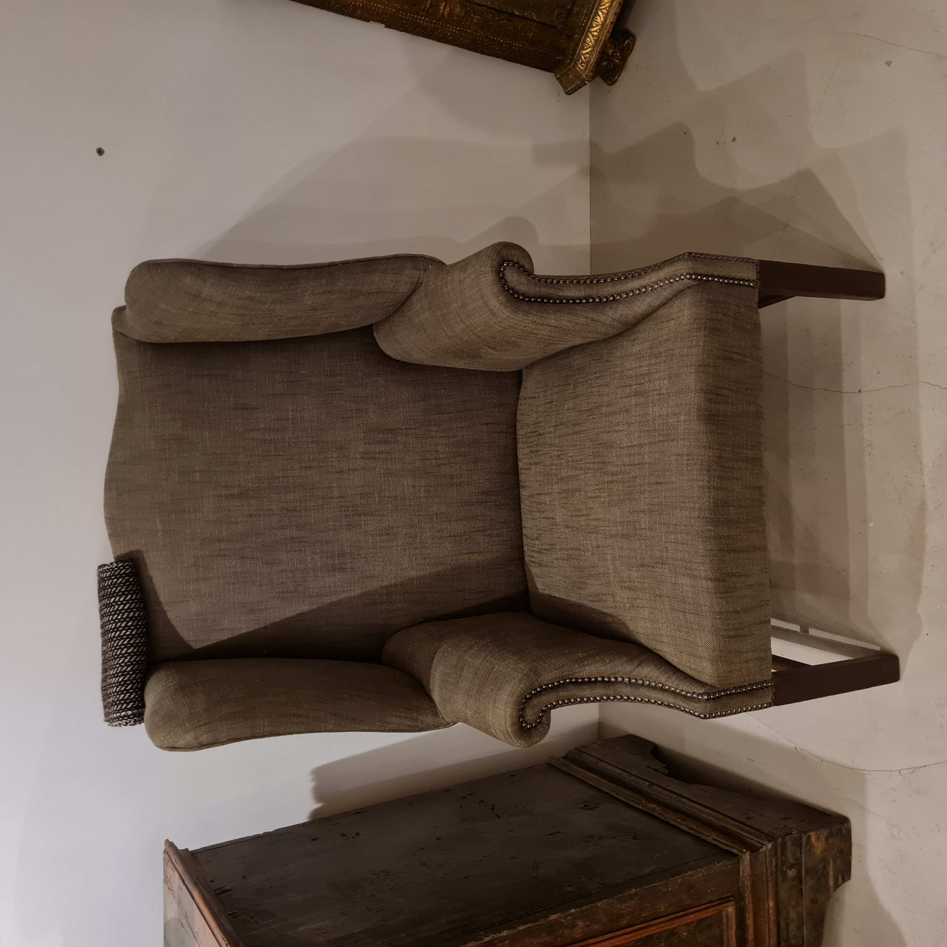 Antique Georgian armchair