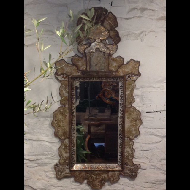 Antique Italian Mirror