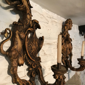 Antique  Italian wall sconces