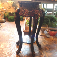 Antique Lacquered Stand