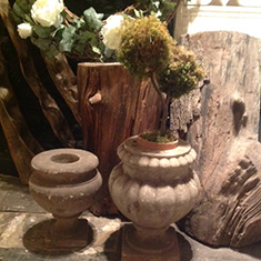 Antique Marble Urns