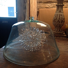 Beautiful Hand Blown Cloche