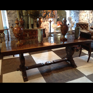 C18 th Italian walnut refectory table
