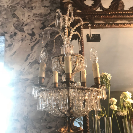 C19 th Italian chandelier lights
