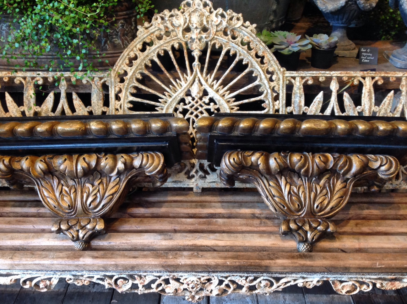 Carved wood c th wall brackets interiors