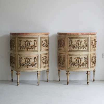 Eighteenth Century Italian Commodes - Pair