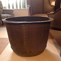 Huge Antique Copper Pot