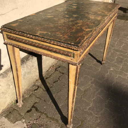 Italian c18 th side table