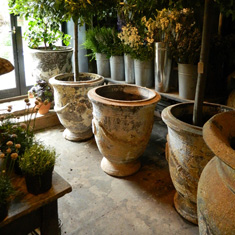 Our selection of Andouse pots