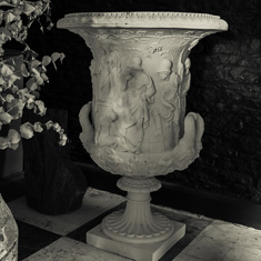 Pair of Fine Urns