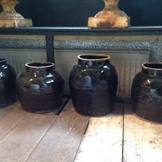 Beautiful Chinese Pottery Pots